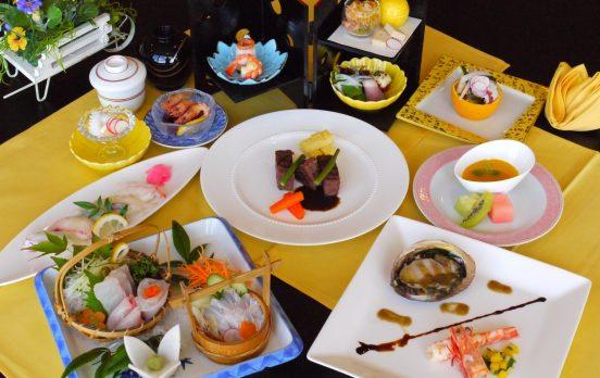 【特別企画】湯の児 海と夕やけ「贅沢会席」プラン